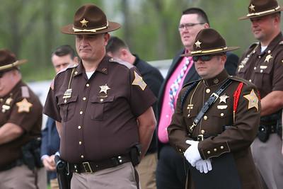 5-6-21 Howard County Sheriff Department's annual inspection ceremony on Thursday. Tim Bath | Kokomo Tribune