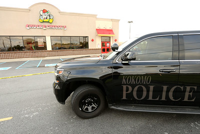 5-9-21 Kokomo Police investigate a shooting that started outside Chuck E Cheese and ended in front of BW3 in the Kokomo Town Center. Tim Bath | Kokomo Tribune