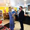 5-5-21<br /> Lt. Governor Suzanne Couch, stopped by the Popcorn Cafe.<br /> Tim Bath | Kokomo Tribune