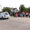 9-12-21<br /> Marine Corps Cpl. Humberto Sanchez's body is flown into Grissom ARB and taken to Logansport in a procession that included over 6000 motorcycles on Sunday. Thousand lined East Market Street to pay their respects.<br /> Tim Bath | Kokomo Tribune