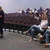 9-1-21<br /> Paula Davis, local head of Moms for Liberty, addresses the Northwestern school board during an emergency meeting to decide the current policy for COVID-19 restrictions.<br /> Tim Bath   Kokomo Tribune