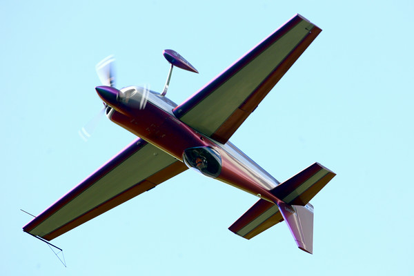 7-24-14 <br /> Airshow practice at Kokomo Municipal Airport in preparation for Saturday's free airshow.<br /> Tim Bath | Kokomo Tribune