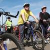 4-27-13<br /> Tour de Kokomo<br /> Participants prepare for the start of Tour de Kokomo on Saturday at Foster Park.<br /> KT photo | Kelly Lafferty