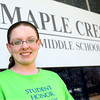 4-25-13<br /> Ashley cone, a 7th grader at Maple Crest Middle School for the volunteer story.<br /> KT photo | Tim Bath