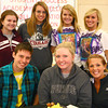4-24-13<br /> Out and about at IUK's midnight madness<br /> Bottom row: Nick Daanen, Leann Cook, Lael Burrus. Top row: Brooke Mathias, Megan Riley, Rachel Allen, Cortney Hanson<br /> KT photo   Kelly Lafferty