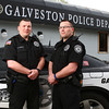 4-24-13<br /> Shawn and Shane Durham, twins on the Galveston Police force.<br /> KT photo | Kelly Lafferty