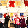 4-22-14<br /> Take Back the Night/Angel Walk<br /> From left: Ashlyn, Savanah, Kaylan, and Madison Markley listen to the speakers at Take Back the Night at IUK on Tuesday.<br /> Kelly Lafferty | Kokomo Tribune