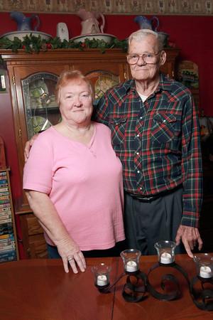 Jennie and Bill Ferguson have been married for 51 years.<br /> Kelly Lafferty | Kokomo Tribune