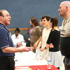 4-9-14<br /> Aiming for Success-job fair which encourages candidates with felony records to attend<br /> Scott Niles talks with Ed Reidt at Aiming for Success, a job fair at Mt. Pisgah Church.<br /> Kelly Lafferty | Kokomo Tribune