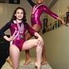 4-9-14<br /> Kate Steiner (front) and Indya Swain (back)<br /> Kelly Lafferty | Kokomo Tribune