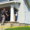4-23-14   --- Shooting investigation at 718 South Union on Wednesday afternoon with the victim talking to Kokomo police about the incident. -- <br />   Tim Bath   Kokomo Tribune