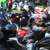 4-27-14<br /> Ride for Troops<br /> 7-year-old Eric Vimmerstedt, Jr. of Tipton, sits on his mom's motorcycle before the start of Ride for Troops on Sunday.<br /> Kelly Lafferty | Kokomo Tribune