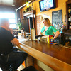 4-25-14   --- Smitty McMusselman's Pub & Grub in Peru at 202 South Broadway. Customer Nick Parkman chats with manager Tish Soldi. -- <br />   Tim Bath | Kokomo Tribune