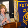 4-15-14   --- Glenda Ritz, the Superintendent of Public Instruction for Indiana, visiting Peru, Ind. with a stop at the Rotary Club and then Peru HS. -- <br />   Tim Bath | Kokomo Tribune