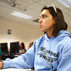 4-9-14<br /> First generation college student, Keeana Walton<br /> Keeana Walton takes notes in her English class at IUK.<br /> Kelly Lafferty | Kokomo Tribune