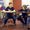 4-1-14   --- Exchange students from Finland at Central Middle School. -- <br />   Tim Bath | Kokomo Tribune