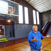 4-2-14   --- Sharpsville in northern Tipton County.  Gym built in 1923 for the school is now part of the town upkeep. Lester Rood, a resident for the past 40 years, talks about the town of Sharpsville.  -- <br />   Tim Bath | Kokomo Tribune