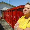 4-16-14   --- Pamela Jackson talks about the damage that she says was all caused by the Tornado that came through Howard County in November 2013 damaging her home in the north central part of the county. She points out wet and moldy insulation, collapsing ceilings, broken windows and other damage. She said that they are on their 3rd dumpster since the storm hit. -- <br />   Tim Bath   Kokomo Tribune