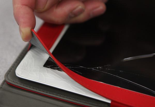 Cracked iPads