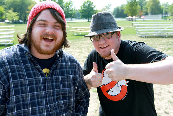 8-3-12<br /> Out and about Weberfest<br /> Derek Windell and Matty Crull<br /> KT photo | Kelly Lafferty