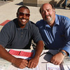 8-18-12<br /> Out and about taste of kokomo<br /> Romon Oglesby and Jeff Kuhn<br /> KT Photo | Kelly Lafferty