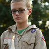 8-23-12<br /> Prayer vigil for Art Anderson<br /> 12-year-old Arrick Behny holds a candle to remember Art Anderson at the prayer vigil Thursday evening. Behny joined the boy scout troop after the tragedy.<br /> KT photo | Kelly Lafferty
