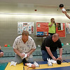 8-11-12<br /> Baby Expo at IUK<br /> Dads race to change the diapers of baby dolls at IUK on Saturday during the Baby and Kids Expo.<br /> KT Photo | Kelly Lafferty