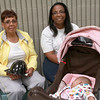 8-11-12<br /> Out and About Baby Expo<br /> Joyce Kirby, Leslie Meriwether, Nevaeh Meriwether (baby)<br /> KT Photo | Kelly Lafferty