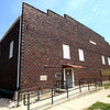 8-2-12<br /> Ed Asher in the Converse Gym built in 1926 and used as the school gym till 1959. The building is in need of a lot of costly repairs. The town is looking at weather it is feasible to rehab.<br /> KT photo | Tim Bath