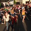 8-18-12<br /> Taste of Kokomo<br /> A flash mob from Dance Elite performs in front of one of the stages during Taste of Kokomo on Saturday.<br /> KT Photo | Kelly Lafferty