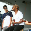 8-9-14<br /> Mo Boy Summer Fest<br /> Tyrin Tracee Tyler performs with The Peaceful Kings during the Mo Boy Summer Fest in Studebaker Park.<br /> Kelly Lafferty | Kokomo Tribune