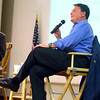 8-11-14<br /> Representative Todd Rokita at a question and answer session at IUK on Monday.<br /> Tim Bath | Kokomo Tribune