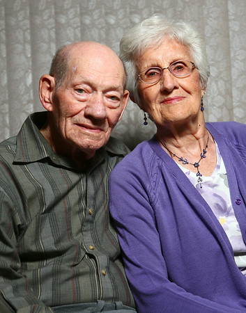Bill and Tressie Smith have been married for 65 years.<br /> Kelly Lafferty | Kokomo Tribune