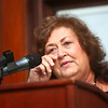 8-8-14<br /> Howard County Hall of Legends<br /> Jeanne White-Ginder wipes a tear from her eye as she talks about her son Ryan White, who was one of the inductees into the Howard County Hall of Legends.<br /> Kelly Lafferty | Kokomo Tribune
