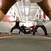 3-1-07<br /> Fitness Challenge at Club Fitness 24<br /> Erin Shultz<br /> Justin Hahn<br /> KT photo | Tim Bath