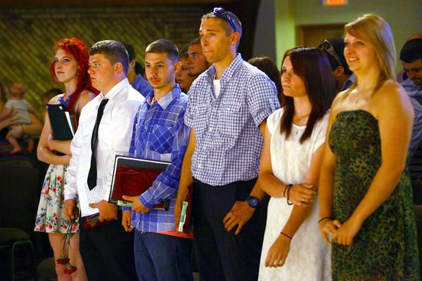 6-13-14   --- The Crossing Graduation. --<br />   Tim Bath   Kokomo Tribune