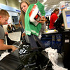 12-17-12<br /> Goodfellows shopping at Meijer store on Monday evening.<br /> KHS wrestler Andrew Ledford and wrestling manager Michaela Wade volunteer bagging items purchased through the goodfellows vouchers.<br /> KT photo | Tim Bath