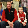 12-15-12<br /> Out and About Kokomo High School boys basketball game<br /> Cari Richards, Jack Richards, Jackson Richards, and Jaden Armfield<br /> KT photo | Kelly Lafferty