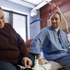 "12-31-12<br /> Walton rehab<br /> Anthony and Rhonda Walton chat on the side of Anthony's hospital bed at the VA hospital on Monday. Anthony is there for rehab after his accident, but hopefully will not be there for long. While at St. Vincent's, Anthony had to get part of his skull removed to reduce brain swelling. ""I just want to go home and see my kids,"" Anthony said.<br /> KT photo 