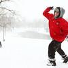 12-26-12<br /> Kokomo snow<br /> Zach Cavazos winds up to throw a snowball at Highland Park on Wednesday.<br /> KT photo | Kelly Lafferty
