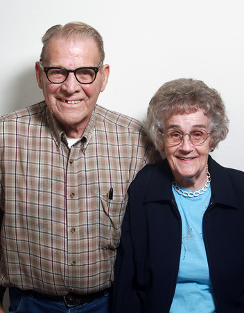 12-7-13<br /> Robert and Bernadean Kinzer have been married for 71 years.<br /> KT photo | Kelly Lafferty