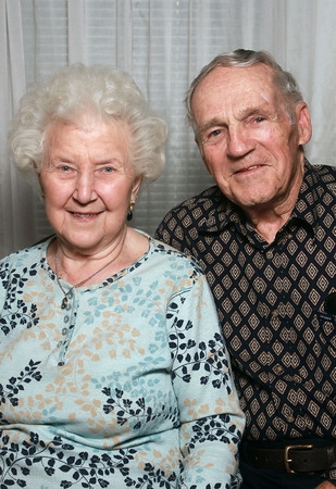 Ella and Gilbert Hellmann have been married for 65 years.<br /> KT photo | Kelly Lafferty