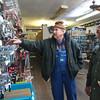 12-5-13<br /> Communities in Denver, Indiana<br /> Glenn Stevens (left) of The Denver Hardware store helps Eddie Hannah search for something he needs.<br /> KT photo | Kelly Lafferty
