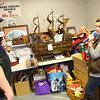 12-2-13   ---  We Care drop-off on Monday morning. The annual We Care Auction is this Friday, Saturday and Sunday. WWKI on air personalities JR Dennis and Linsay Eckert talk about the donations that have come in to We Care.<br />   KT photo | Tim Bath