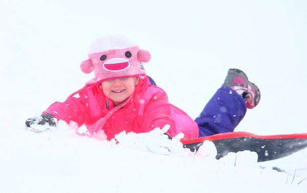 12-14-13<br /> Jackson Morrow Park snow<br /> <br /> KT photo | Kelly Lafferty