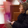12-12-13<br /> Southside Christian Church's Blue Christmas service<br /> Joan Carr listens during the Blue Christmas service at Southside Christian Church on Wednesday night.<br /> KT photo | Kelly Lafferty
