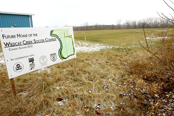 12-9-13   ---  The old Continental Steel site is being aquired by the City of Kokomo and will become a soccer complex - the Wildcat Creek Soccer Complex<br />   KT photo | Tim Bath