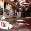 12-3-13<br /> Louies Coney Island<br /> The inside of Louies Coney Island after tornado damage near the entrance on Hoffer Street.<br /> KT photo | Kelly Lafferty