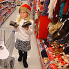 "11-19-13  --  ""Be a Santa to a Senior"" shopping at Walgreens by Lucy Weigt who adopted 2 seniors by taking tags from the tree, each with a list of what the senior would like.<br />   KT photo 