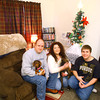 12-23-13   ---  Brian, Bridget and Zak College who's home was heavily damaged by the tornado will be spending Christmas in a small apartment.<br />   KT photo | Tim Bath